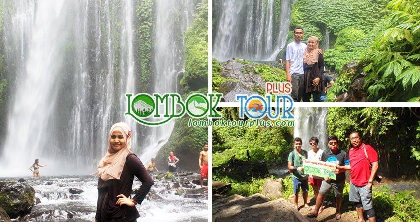 Wisata Air Terjun sendang gile Lombok 1 Hari