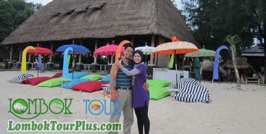 keceriaan paket wisata gili trawangan lombok
