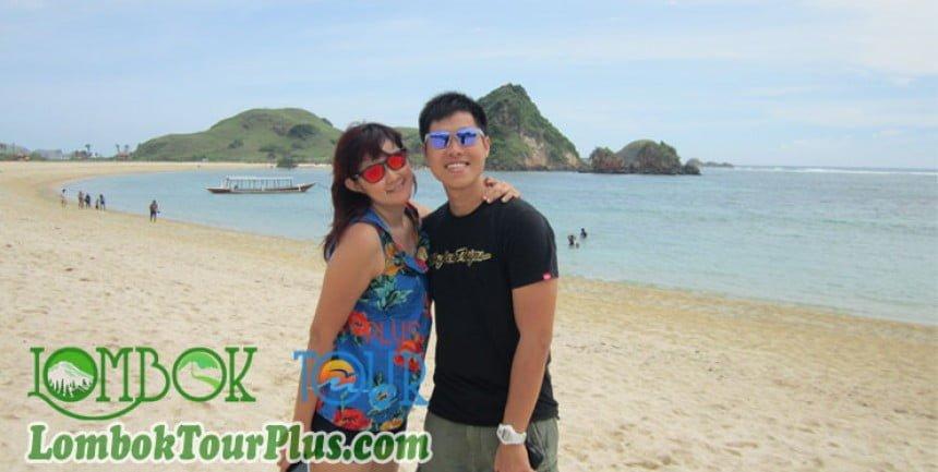 paket wisata pantai kuta lombok tour plus