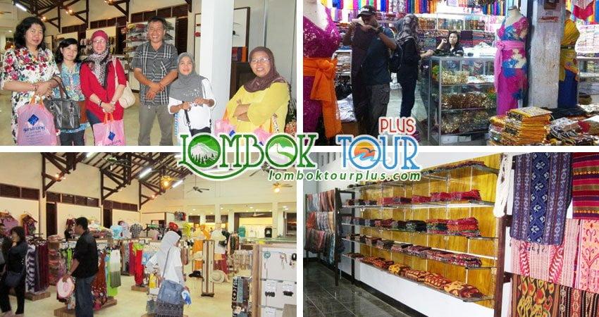 Wisata Belanja pulau Lombok 1 hari