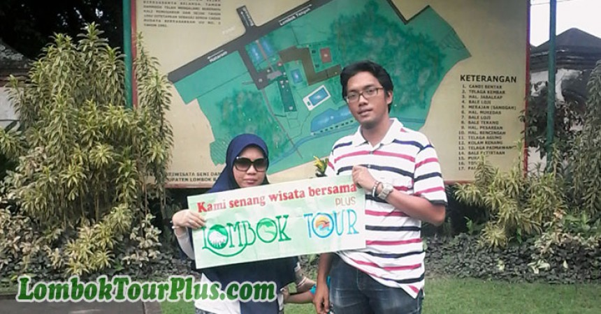 objek taman narmada lombok barat