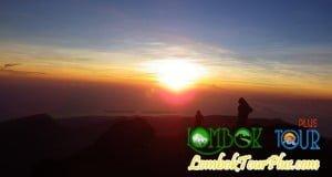 puncak di gunung rinjani lombok