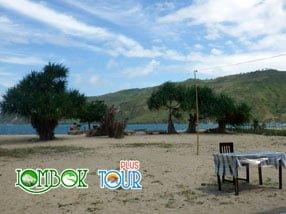 Keelokan Pantai Kuta Lombok