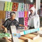 Kain Tenun Cantik dari Desa Sukarara Lombok