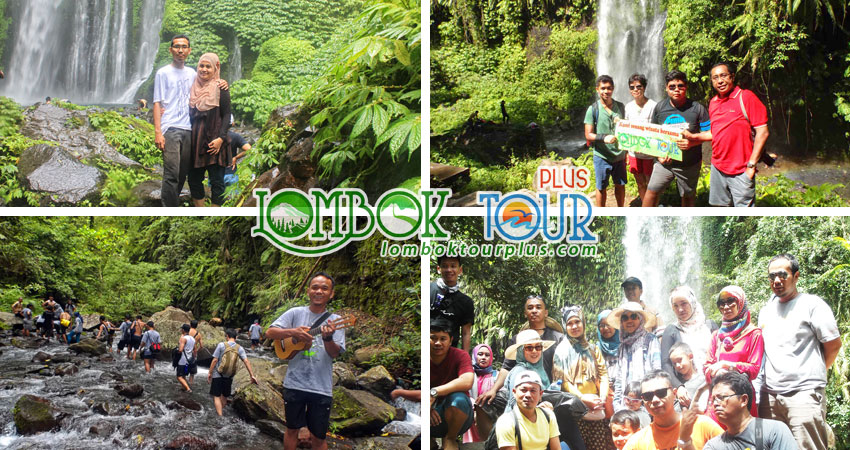 Wisata Lombok air terjun Lombok 4 hari 3 malam