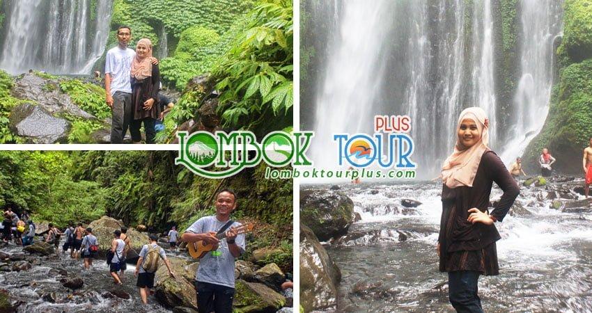 Wisata air terjun Sendang Gile lombok 3 hari 2 malam