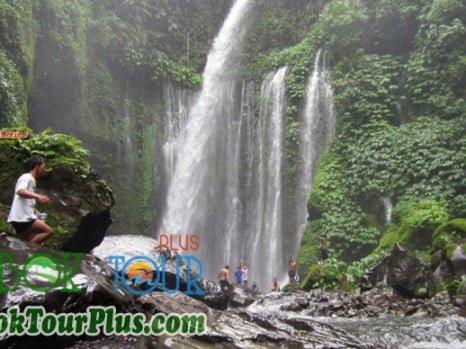 keindahan air terjun Sendang Gila dan Tiu Kelep Lombok
