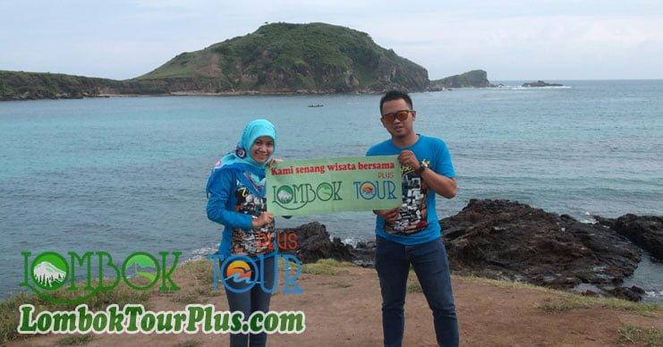 senangnya wisata tanjung aan dan pantai kuta lombok