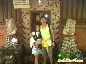 Bpk Fenlie wisata taman narmada lombok