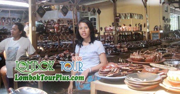 Wisata Bapak Fredy di Wisata Desa Banyumulek Lombok