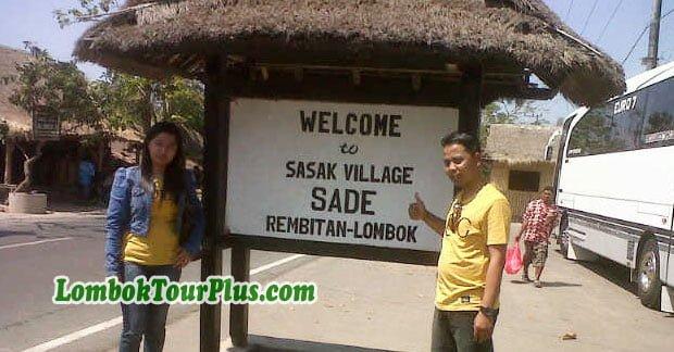 Wisata Bapak Arief di Desa Sade Lombok
