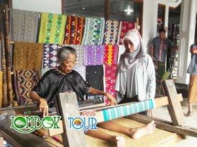 Lihat Lebih Dekat Kerajinan Tenun Desa Sukarara Lombok