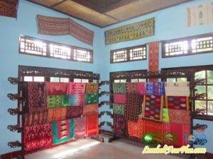 galery kain tenun lombok