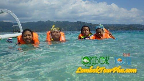 snorkeling gili nanggu
