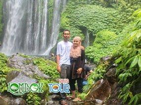 2 Air Terjun Dibawah Kaki Gunung Rinjani Lombok yang Mempesona