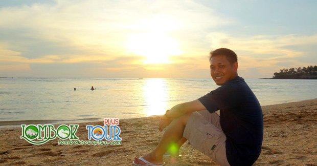 objek wisata lombok di pantai senggigi