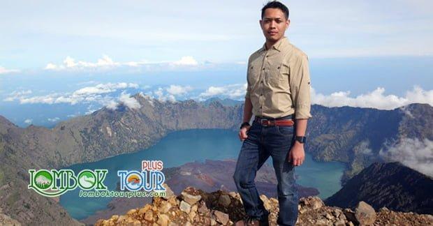 Gunung Rinjadi di Lombok