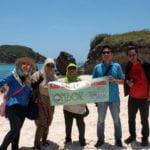 Wisata Bahari Pantai Tanjung Aan Lombok Yang Mengagumkan