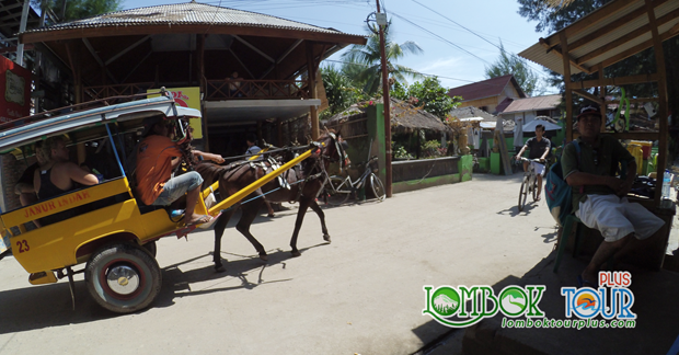Sensasi Naik Cidomo di Gili Trawangan Lombok