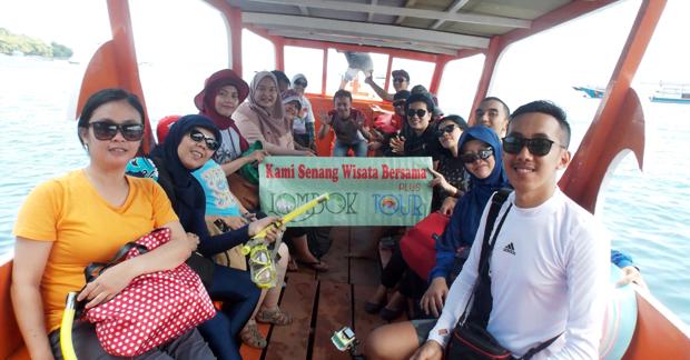 Trip Ibu Ismi dan Sahabat di Lombok