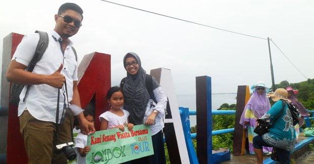 Wisata Bapak Prima di Bukit Malimbu Lombok