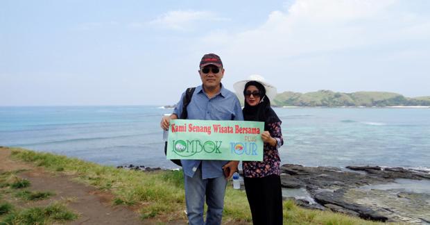 wisata tanjung aan pantai di Lombok