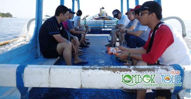 perjalanan menuju wisata gili trawangan lombok