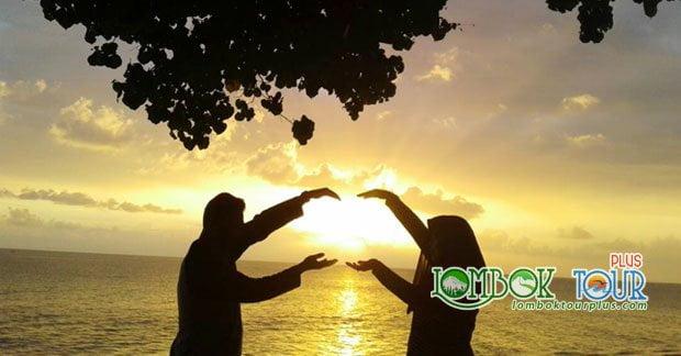 Indahnya Sunset di Lombok