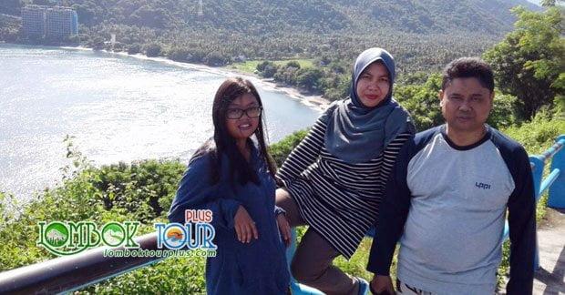 Wisata Bapak Basuqei di Bukit Malimbu Lombok