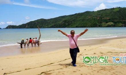 Keseruan Wisata Ibu Kristin dan Keluarga di Lombok