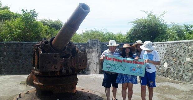 Wisata Ibu Yuliana di Tanjung Ringgit Lombok