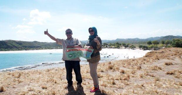 Wisata Bapak Mubarak Ahmad di Lombok