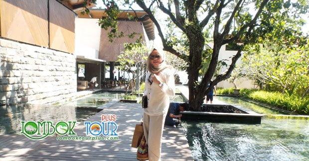 Wisata di Lombok Ibu Mubarak Ahmad