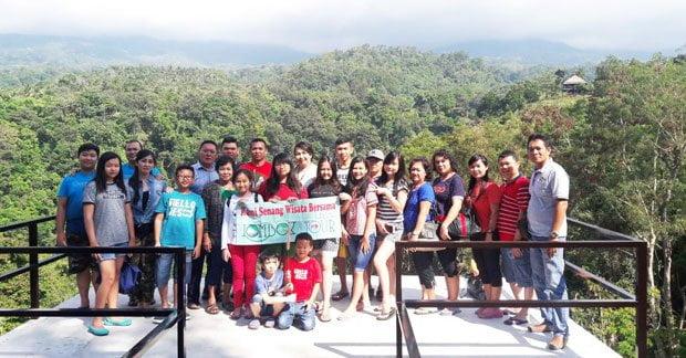 Wisata Bapak Handi dan Grup di Lombok