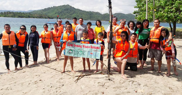 snorkeling seru di Lombok